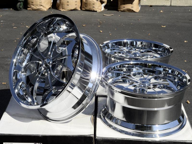 22 Chrome VCT Wheels Rims Avalanche GMC Sierra 1500 Yukon Denali