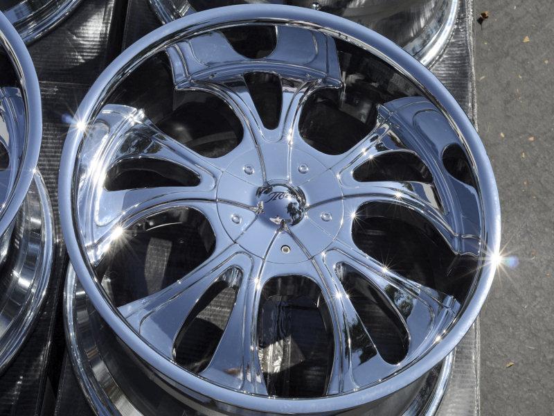 5x120 Chrome Wheels BMW x5 x6 Camaro Land Range Rover Discovery Rims