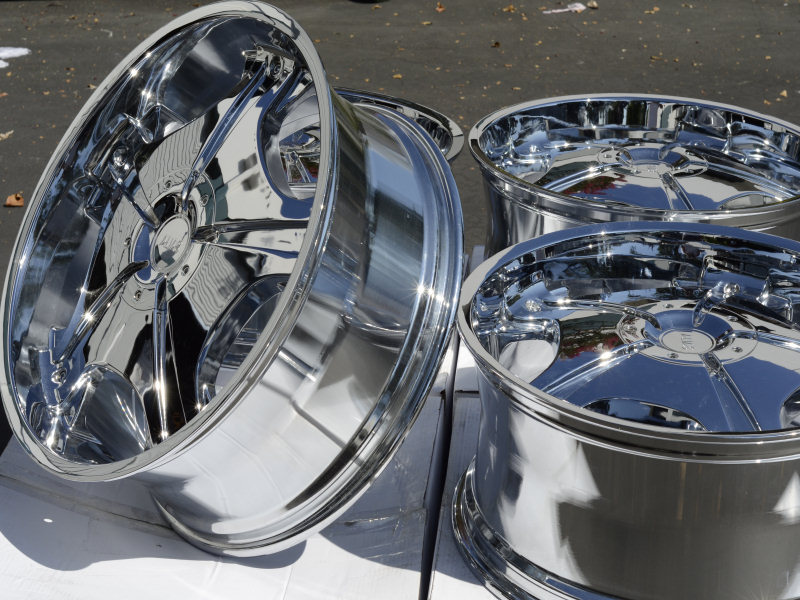 "22"" Chrome Wheels Rims Dodge Nitro Ford Crown Victoria Explorer GMC Jimmy Sonoma"