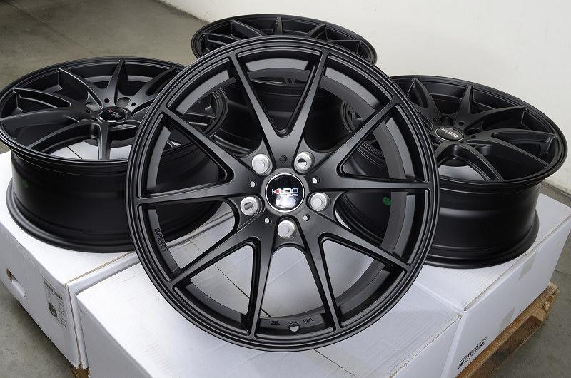 17 5x114 3 Matte Black Rims Altima Vibe Mazda 3 6 626 929 mazdaspeed Juke Wheels