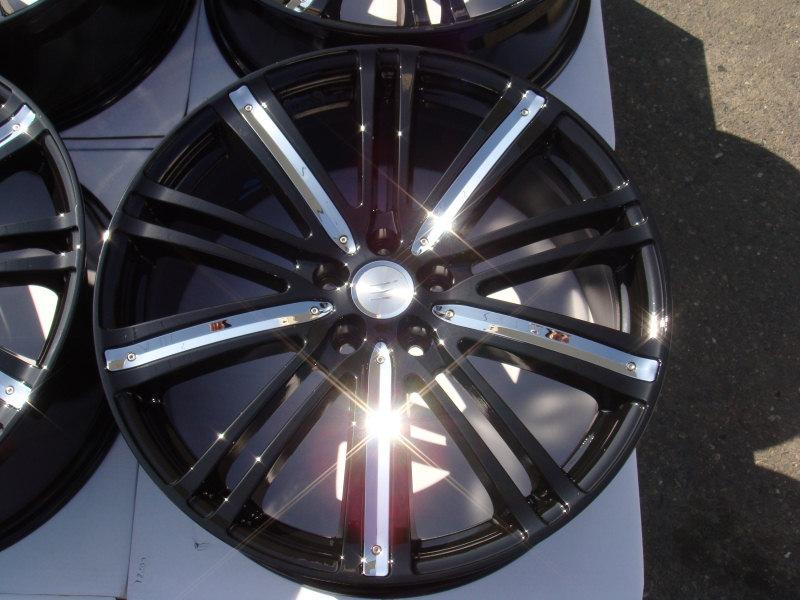 "17"" Effect Wheels Rims Black Jaguar s Type x Type Volvo C70 S40 S60 V70 XC70 V50"